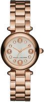 Marc Jacobs Women's Dotty Rose Gold-Tone Stainless Steel Bracelet Watch 25mm MJ3520
