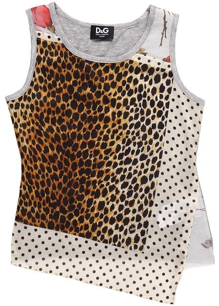D&G Baby Vest (Toddler/Little Kids/Big Kids) (Ocelot/Stripe) - Apparel