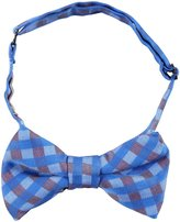 Peppercorn Kids Plaid Bow Tie - Blue-S/M ( 2-6 Yrs)