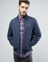 Jack Wills Rame Bomber Jacket in Navy