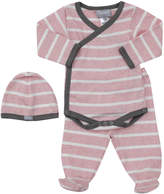 Coccoli Kids' 2Pc Bodysuit & Cap Set