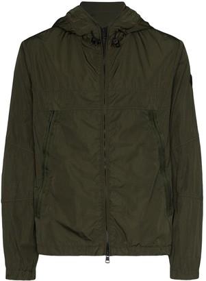 Moncler Grimpeurs hooded soft shell ski jacket