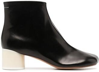 MM6 MAISON MARGIELA Cylindrical-Heel Ankle Boots