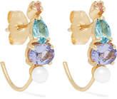 Loren Stewart 14-karat Gold Multi-stone Earrings
