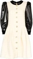 Gucci Vinyl Sleeve Mini Dress