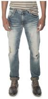 R & E RE: Vintage Wash Slim Jeans