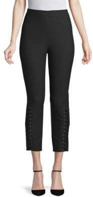 Derek Lam 10 Crosby Lace-Up Detailed Leggings