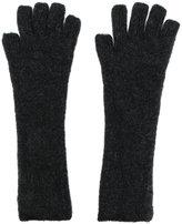 Isabel Benenato knit gloves