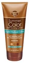 Banana Boat Summer Color Self-Tanning Lotion - Light/Medium (6 oz)