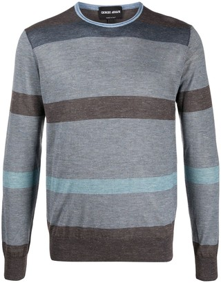 Giorgio Armani Striped Jumper