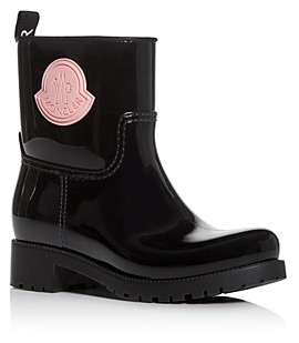 Moncler Women's Ginette Low-Heel Rain Boots