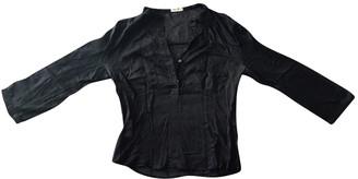 Miu Miu Black Cotton Top for Women