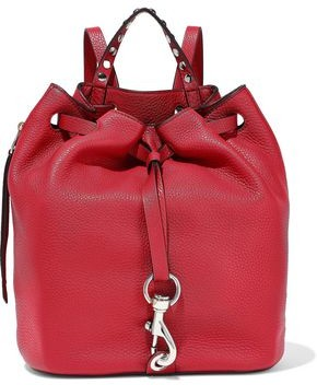 Rebecca Minkoff Blythe Studded Pebbled-leather Backpack