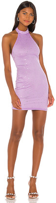 superdown Taylia Halter Mini Dress