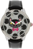 Betsey Johnson Betseys Holiday Spotted Cat Watch