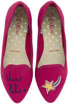 Cath Kidston Shine Like a Star Embroidered Pumps