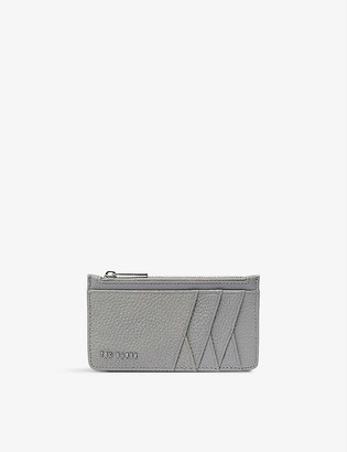 Ted Baker Gerii zipped grained leather card holder