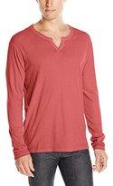 Lucky Brand Men's Long-Sleeve Notch Neck T-Shirt