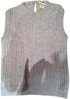 Max Mara Grey Wool Knitwear