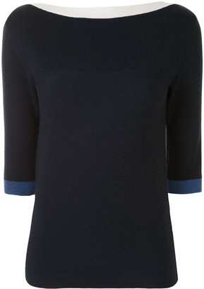 See by Chloe Crossover Back Knitted Top