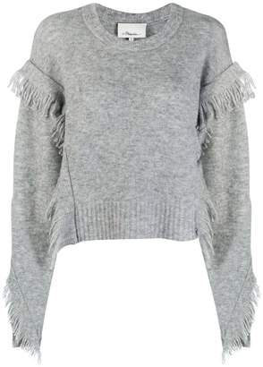 3.1 Phillip Lim fringed sleeve jumper