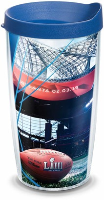 Tervis NFL - Super Bowl 53 Insulated Tumbler with Wrap and Blue Lid 16oz