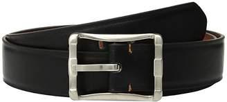 Stacy Adams Big and Tall 40 mm Fairmount Reversible Belt (Black/Cognac) Men's Belts