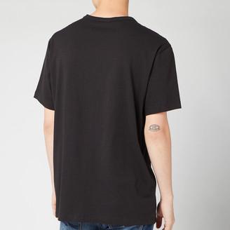Champion Men's Sleeve Logo Crew Neck T-Shirt