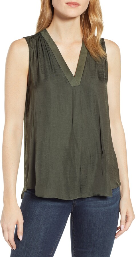 be49c26d5 Vince Camuto Green Women's Petite Clothes - ShopStyle