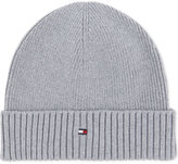 Tommy Hilfiger Knitted Cotton-cashmere Beanie