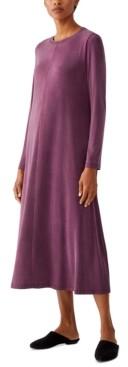 Eileen Fisher Crewneck Long Sleeve Dress