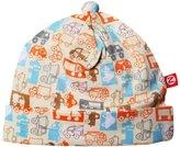 Zutano Trucks Hat (Baby) - Cream-12 Months