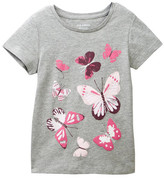 Joe Fresh Printed Tee (Toddler & Little Girls)