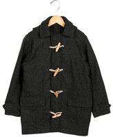 Barbour Girls' Herringbone Long Coat