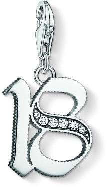 Thomas Sabo Ladies Sterling Silver Charm Club 18 Charm 1508-643-21
