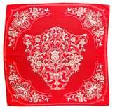 Cartier Silk Floral Print Scarf