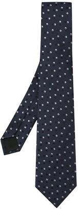 Cerruti polka dot pattern tie