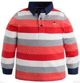 Mayoral Boys Red-Striped Polo
