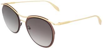 Alexander McQueen Women's Am0116s 54Mm Sunglasses