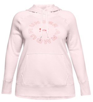Under Armour Plus Size Logo Graphic Hoodie
