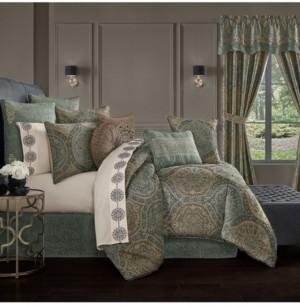 J Queen New York Dorset Comforter Set of 4 Piece, California King Bedding