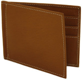 Piel Leather Bi-Fold Money Clip Wallet 2858