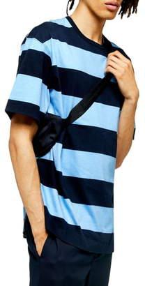 Topman Block Stripe Oversize T-Shirt
