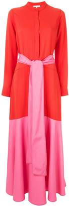 LAYEUR colour block dress