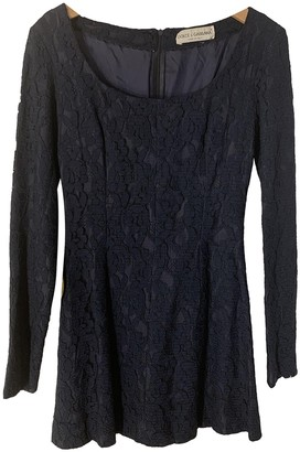 Dolce & Gabbana Navy Lace Dress for Women Vintage