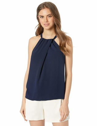 Trina Turk Women's Rosemary Fold Over Halter Top