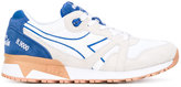 Diadora chunky sole lace-up sneakers - men - Leather/Nylon/rubber - 6.5