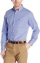 Dockers Long-Sleeve No-Wrinkle Mini Check Button-Down Collar Shirt