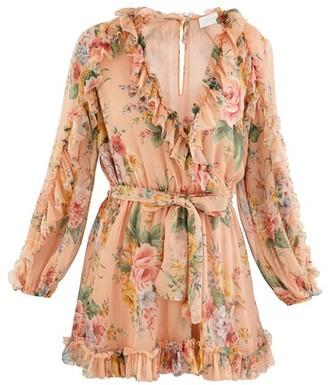 Zimmermann Zinnia cotton jumpsuit