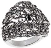 Ottoman Silver Collection Ottoman Silver Jewelry Collection Floral Bead Sterling Silver Ring